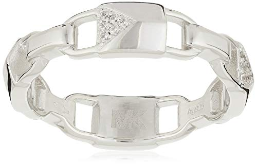 Michael Kors Damen-Damenring 925er Silber 57 Silber 32000050
