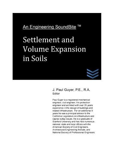 Settlement and Volume Expansion in Soils (Engineering SoundBites)