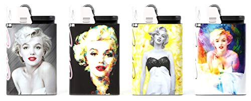 djeep Feuerzeug Marilyn Monroe Series 4 Pack