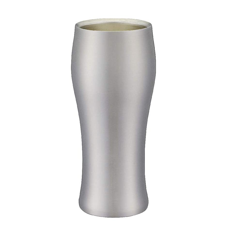 一般意味走るドウシシャ飲みごろ ビールタンブラー420ml マット DSB-420MT