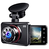 Ainhyzic Dash Cam 1080P Full HD Dash Camera for Cars Touch Button Screen Driving Recorder with 170°...