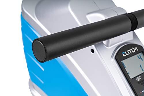 Elitum Rameur à tirage Central ZX700 Rameur magnétique équipé de l'ordinateur Roue d'inertie 9...