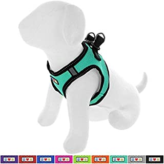 Pawtitas Pet Reflective Mesh Dog Harness,Step in or Vest Harness Dog Training Walking of YourPuppy/Dog - No More Pulling, Tugging, Choking, Prevent Pulling