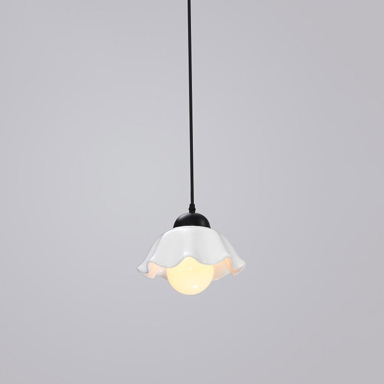 JL American Rural Keramik Mahlzeiten Kronleuchter Führte Lndlichen Einfachen Gang Schlafzimmer Restaurant Bar Lampe 1 3   3lamps A+ (gre   1lamp)