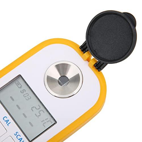 Rosvola Refractómetro Brix, Medidor Brix de bajo Consumo de energía para vinoteca para el hogar(DR401 Special for Wine Juice)