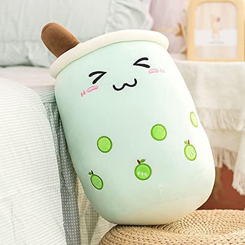 Simpatico cartone animato morbido Bubble Tea Cup Peluche Moda Bere Cuscino Cuscino carino Cibo divertente Abbraccio Regalo di compleanno 50 cm C.