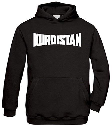 Ya Hero Ya Mero Kurdistan Hoodie Kapuzenpullover Pullover Azadi (XL)