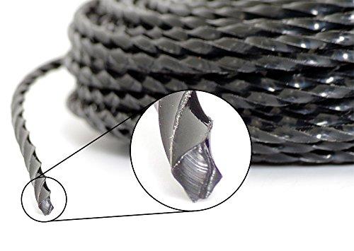 PROFI Mähfaden Trimmer 15 m 4-kant TWIST 3,0 mm Ersatzfaden für Fadenkopf