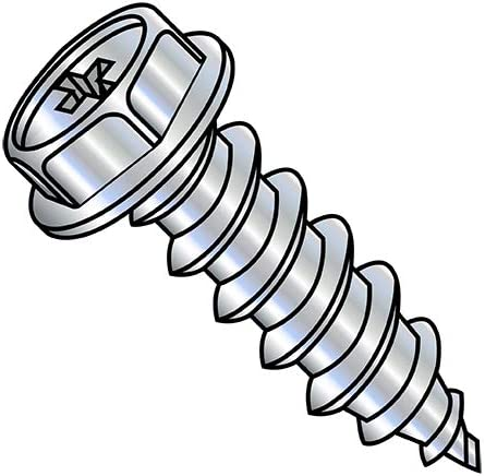 5 16-9X3 Phillips Indented Hex Washer A Screw Max Nippon regular agency 67% OFF Tapping Self Type