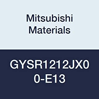 120 mm L 12 mm W 0/° Angle Mitsubishi Materials GYSR1212JX00-E13 GY Mono Block External Grooving Holder for Small Lathe 2.39 mm//2.50 mm//2.74 mm Seat Right 12 mm H 13 mm Grooving Depth