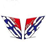 Etiqueta engomada de la Cubierta del Tanque de Combustible de la Motocicleta Pegatina de protección Reflectante e Impermeable para BMW R1200GS R 1200 GS 2005-2012 Pegatinas para Moto (Color : A 2)