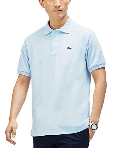 Lacoste L1212, Camisa de Polo para Hombre, Azul (Ruisseau), XXL