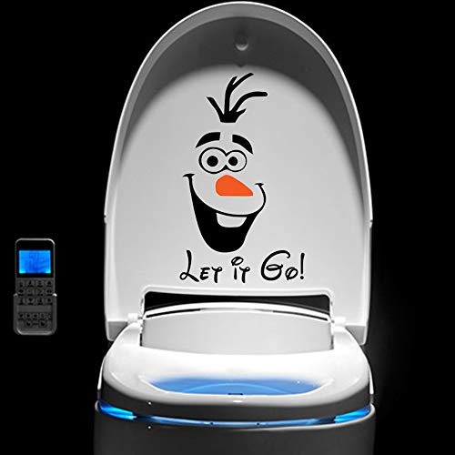 Calcomanía congelada Elsa pegatina Cartoon Frozen Snowman Olaf Let It Go Dormitorio Ventana Decoración para el hogar Disney Mural Art