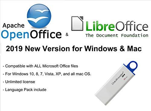 # Apache Openoffice y Libreoffice 2019 Nueva versión para Microsoft Windows y Mac OS X