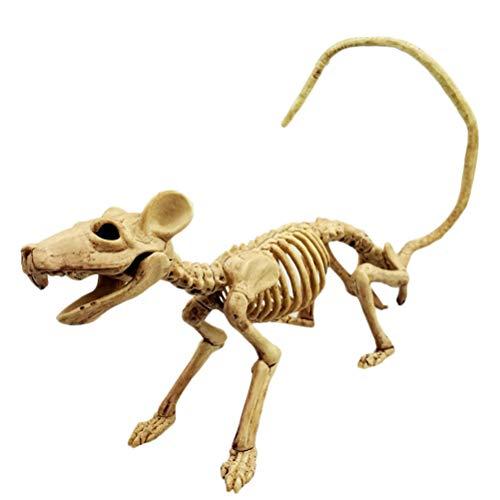 Peahop Tierskelett, Halloween Knochen Horror Simulation Skelett Modell Halloween Party Dekoration