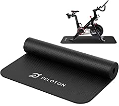 -Unique DIY exercising bike design, perfectly fit for Peloton Spin Bike and Bike + -Suit for any hardwood floors & carpets, non-slip surface & extra-dense scratch resistant 4mm thickness. -Provide 30% more length for spin bikes, cycling and trainers(...