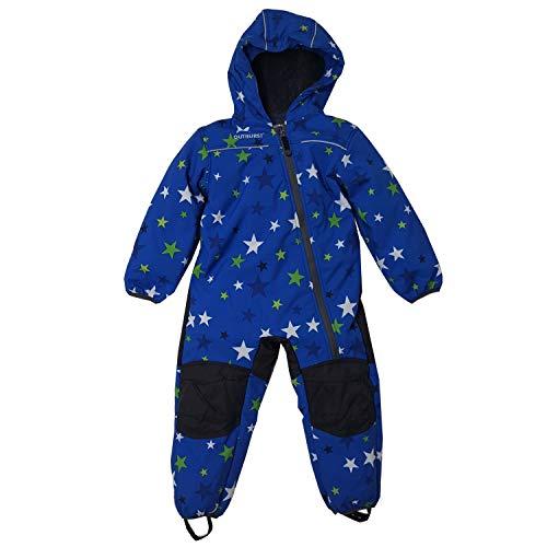 Outburst - Jungen Softshell Overall Schneeanzug 10.000mm Wassersäule, blau - 3712710, Größe 74