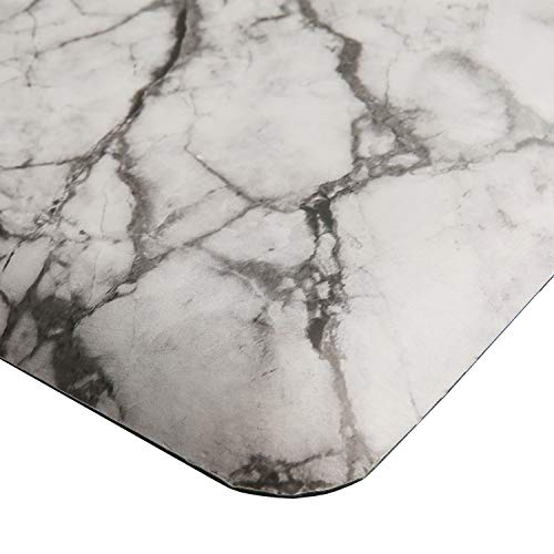 Marble Anti Fatigue Kitchen Mat Nonslip Foam Kitchen Floor Mat Waterproof Cushioned Rugs Comfort Standing Mat for Kitchen Office Computer Desk W20x L36x H3/4""