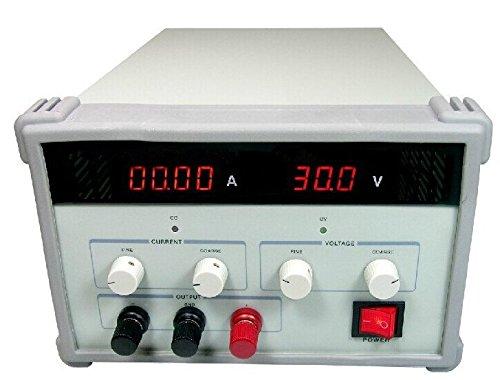 GOWE lineal, 1toma de salida de canal único regulado DC fuente de alimentación 300W Variable 0–60V/0–5A ajustable