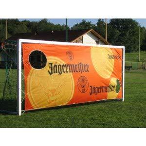 Jägermeister Torwand Banner Fussball Tor ca. 4,75m x 1,80m