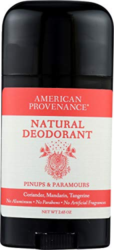 American Provenance Natural Womens Deodorant, Pinups & Paramours, 2.75 oz/75 gr