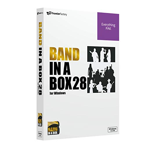 PGmusic Band in a Box28 for Win EverythingPAK PGミュージック