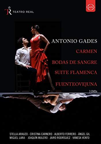 Antonio Gades - Spanischer Tanz aus dem Teatro Real [3 DVDs]