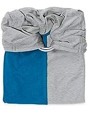 Ręcznik do noszenia Porte Mon Bébé bez pętelki, antracyt/iris