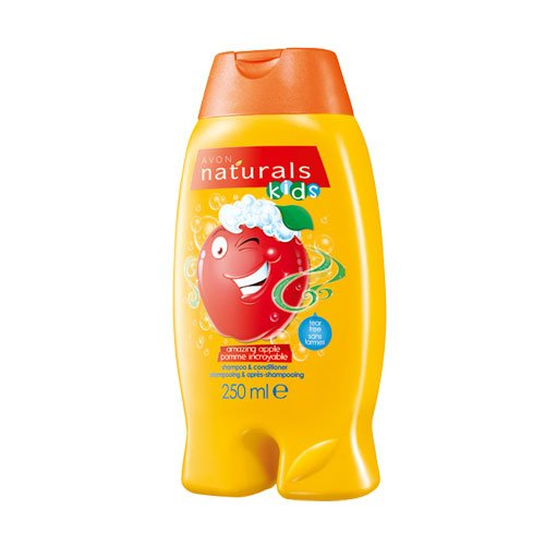 Avon Naturals Kids Amazing Shampoo und Conditioner, Apfel, 250 ml