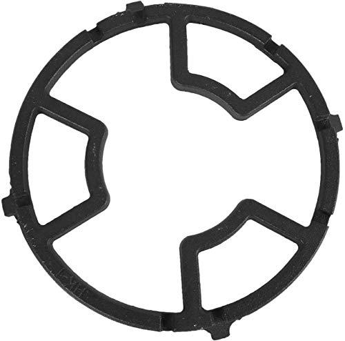 LGYKUMEG 2pcs Support Universel en Fonte Pour Wok - Pour Brûleur à GAZ, Cuisinière à GAZ, Maison, Cuisine, Ustensiles de Cuisine,Negro