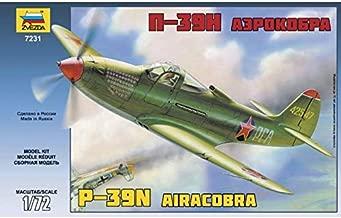 ZVEZDA 7231 - P39N Airacobra - Plastic Model Kit Scale 1/72 44 Details Lenght 8.25