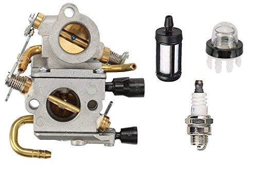 OxoxO Kit d'accordage de remplacement pour carburateur C1Q-S118 - Filtre à carburant - Bougie d'allumage - Pour STIHL TS410 TS410Z TS420 TS420Z - Scie de coupe à béton 4238 120 0600