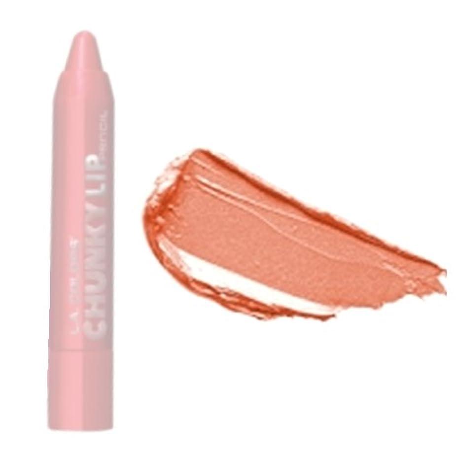 キリスト犯罪キウイLA COLORS Chunky Lip Pencil - Creme Brulee (並行輸入品)