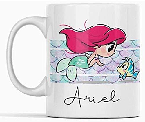 Clapper Taza Ariel. Taza Princesa Disney. La Sirenita