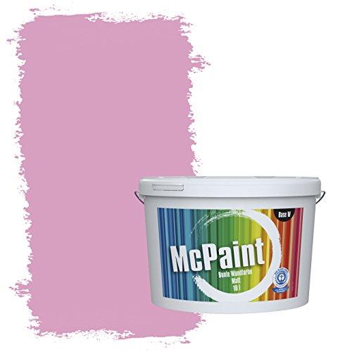 McPaint Bunte Wandfarbe Flamingo - 2,5 Liter - Weitere Rote Farbtöne Erhältlich - Weitere Größen Verfügbar