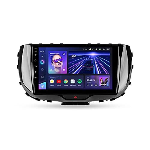 ADMLZQQ 9'' Android 10.0 Autoradio con Bluetooth Manos Libres,para Kia Soul SK3 2019 2020,Soporte GPS Mandos De Volante Cámara Trasera 3D Dinámica De Conducción En Tiempo Real Mirror-Link,Cc3,6+128G