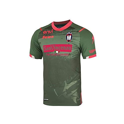Zeus Maglia Ufficiale F.C. CROTONE Calcio Third Verde (2020/2021) Taglia Large