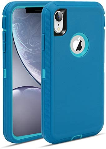 MAXCURY Defender iPhone XR Case Heavy Duty Shock Absorption Full Body Protector Phone Case for product image