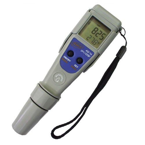 Medidor de ORP/Redox/pH y temperatura resistente al agua Adwa (AD14)