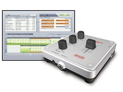 ION Audio DJ Express Digital Audio DJ Controller and Mixer with Software