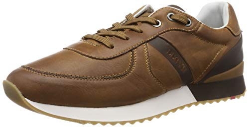 LLOYD Herren Earland Sneaker, Braun (New Nature/Coffee 1), 47 EU