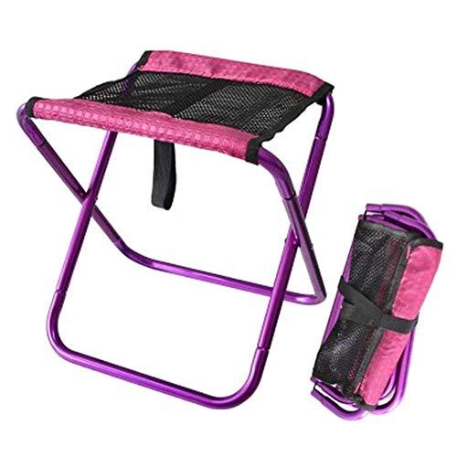 YXYLD Camping Stuhl Mit Atmungsaktivem Netz Tragbarer Klappstuhl Mit Nylontuch Und Aluminiumlegierung Robust Zum Angeln/Strand/Reisen/Grillen