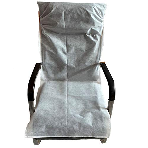 Hcman Disposable Airplane Seat Covers - 2 Covers Per Package for Airplane, Bus, Taxi