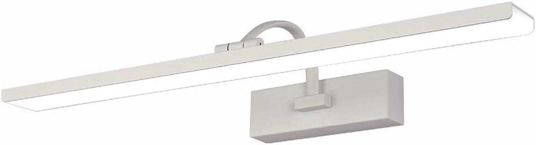 WOXIMAOYI LED Spiegelscheinwerfer, Modern Bathroom Mirror Cabinet Light Box Makeup Lampe, Acryl + Aluminium 16W,24W 61CM