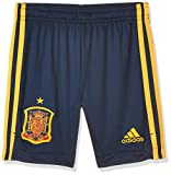 adidas Selección Española Temporada 2020/21 Pantalón Corto Primera equipación, Unisex, Collegiate Navy, 164