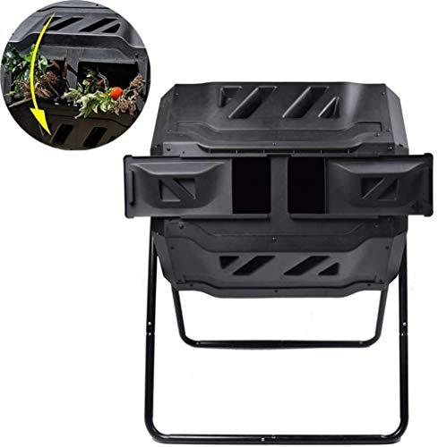 CRZJ Trommelkomposter mit 2 doppelt rotierenden Tumblern, entwickelt, um den Kompost schnell zu Machen