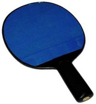 New Olympia Sports Poly Table Tennis Paddles with Rubber Face – Set of 4