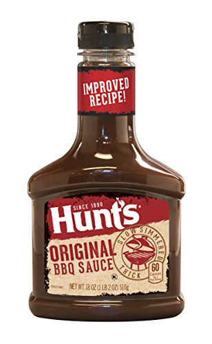 Hunt's Original BBQ Sauce 18 Ounce Bottle