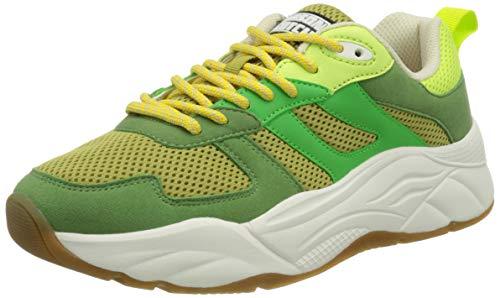 SCOTCH & SODA FOOTWEAR Damen Celest Sneaker, Green, 39 EU