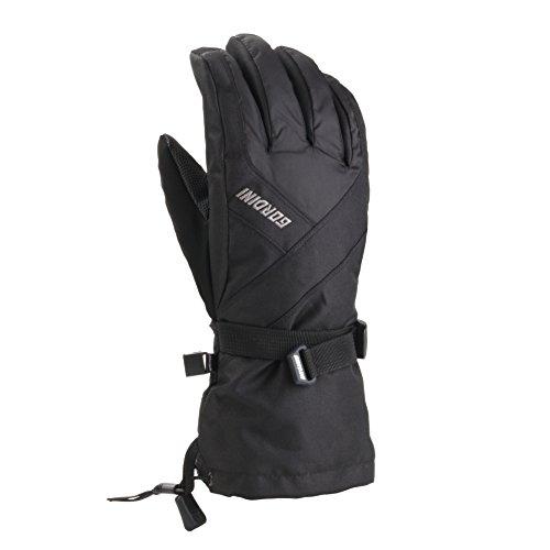 Gordini Men's GTX Versatile Systems Gloves, Black, Large